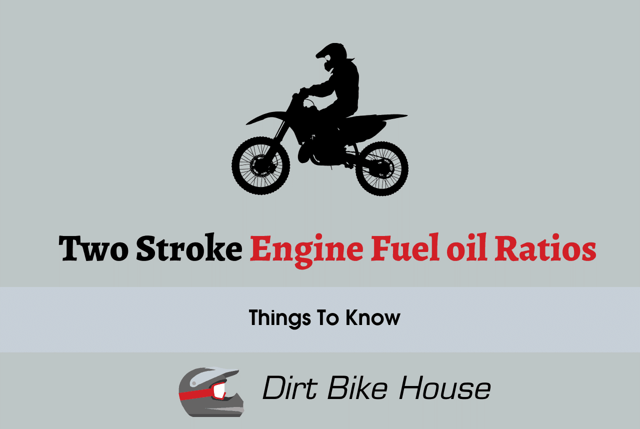 What 2 Stroke Engine Fuel oil ratios to be Used?